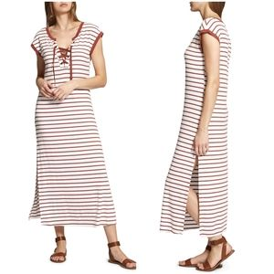Sanctuary Riviera Striped Midi Dress sz Med